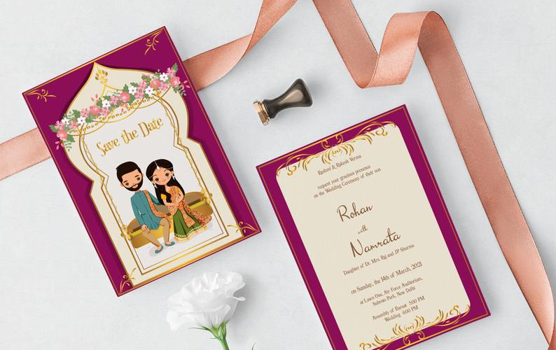 12 Unique Indian Invitations On Etsy for Every Type of Desi Wedding